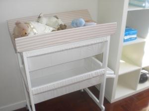 bañera cambiador bebés
