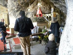 Covadonga excursión niños Asturias visitar