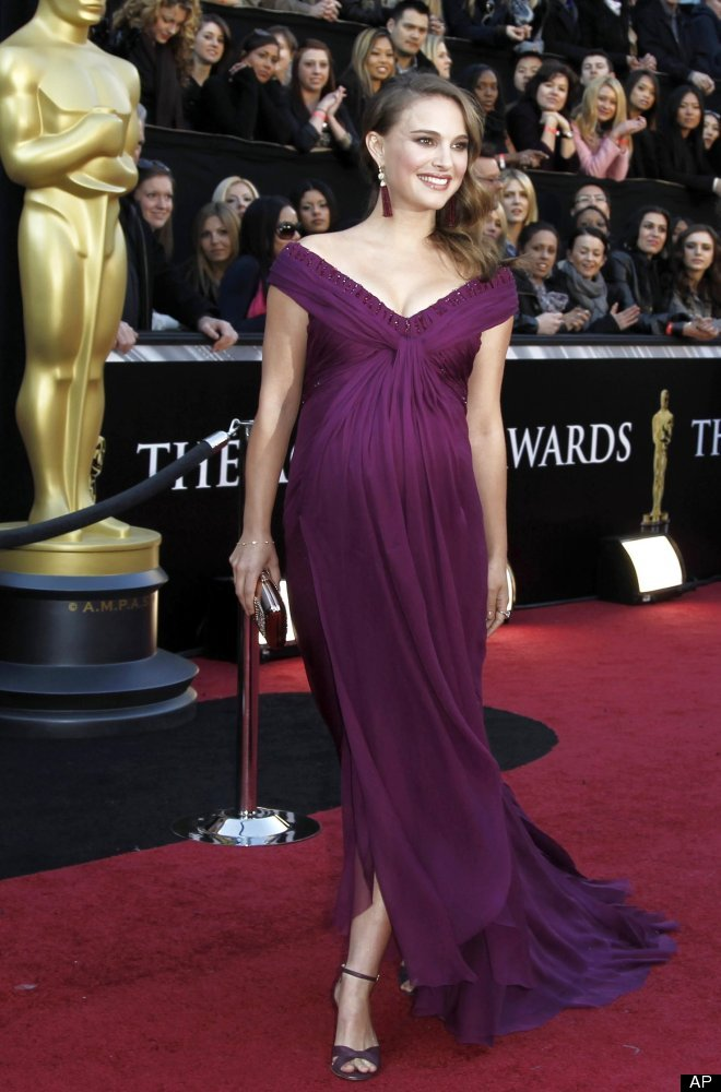 Vestidos de fiesta embarazadas famosas